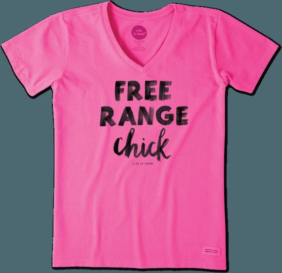 Women's Free Range Chick Crusher Vee