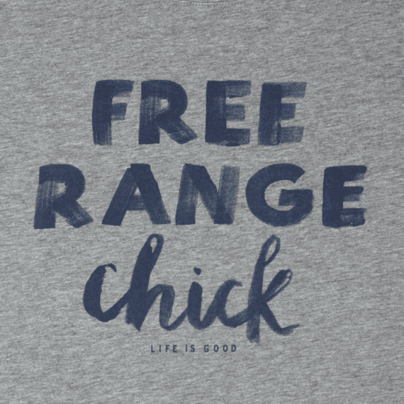 Women's Free Range Chick Breezy Tee