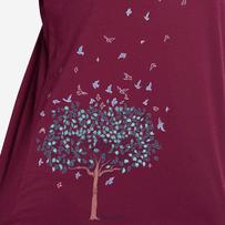 Women's Free Spirit Tree Long Sleeve Breezy Tee