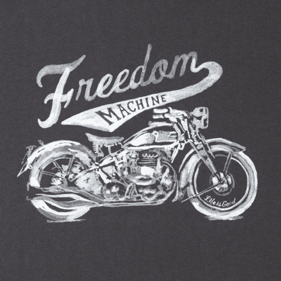 Women's Freedom Machine Long Sleeve Crusher Tee
