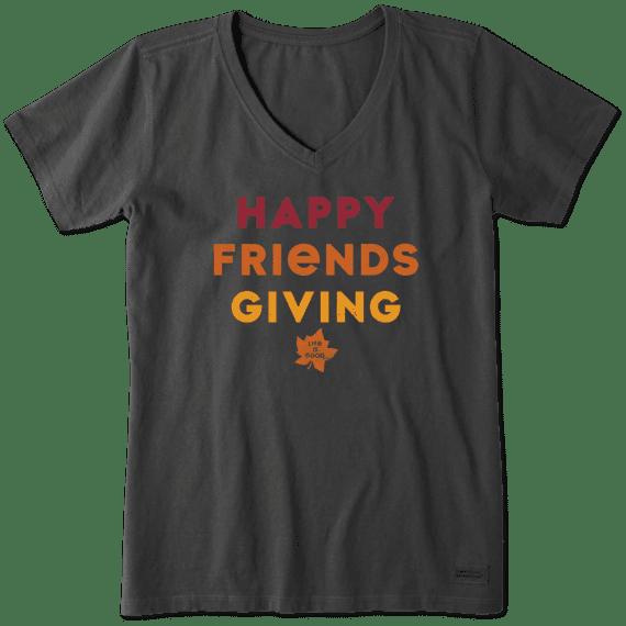 Women's Friendsgiving Crusher Vee