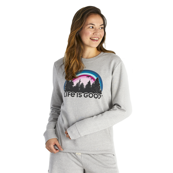 Women's Funky Outdoor Simply True French Terry Crew