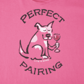 Women's Funky Perfect Pairing Long Sleeve Smooth Tee