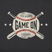 Women's Game On Baseball Crusher Tee