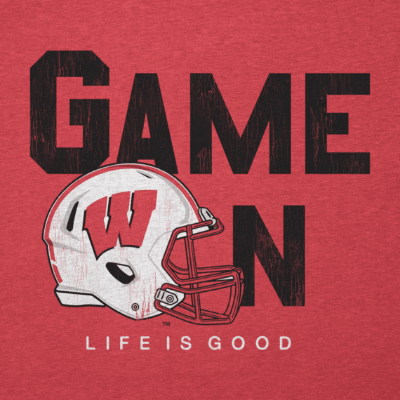 Women's Game On Bold Wisconsin Cool Vee