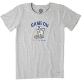 Women's Game On Rocket Crusher Tee