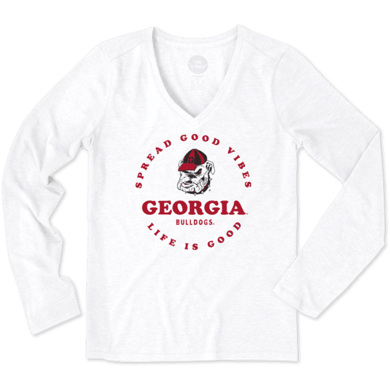 Women's Georgia Good Vibes Long Sleeve Cool Vee