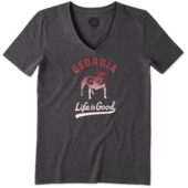 Women's Georgia Gradient Tailwhip Cool Vee