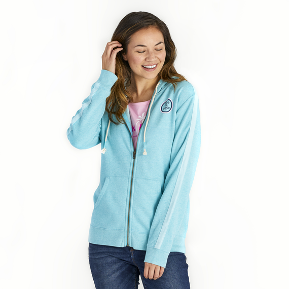 Women's Get Away Palms Simply True Zip French Terry Hoodie