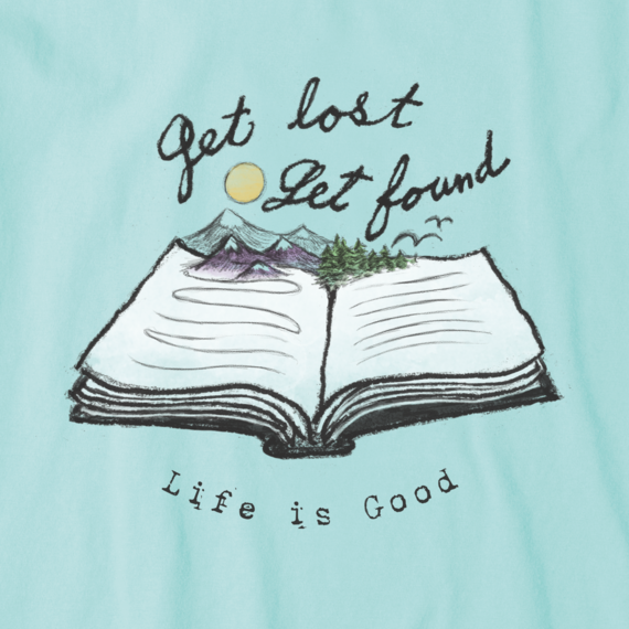 Women's Get Lost Get Found Book Crusher Vee