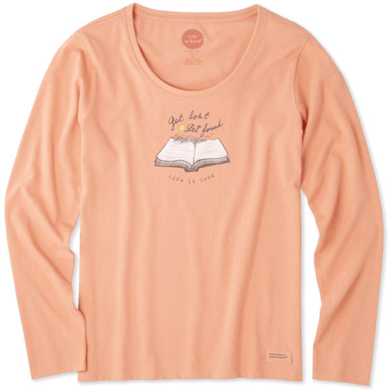 Women's Get Lost Get Found Long Sleeve Crusher Scoop