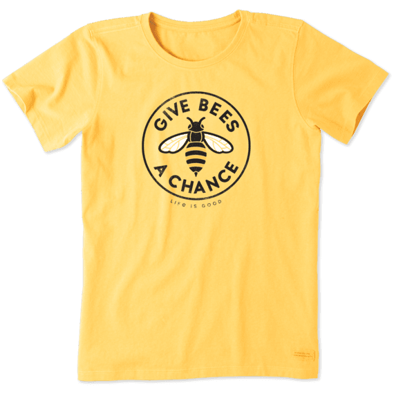 Women's Give Bees a Chance Crusher Tee