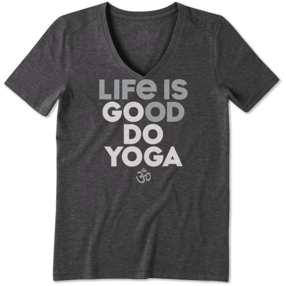 Women's Go Do Yoga Cool Vee