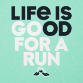 Women's Go For A Run Cool Vee