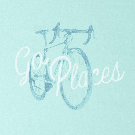 Women's Go Places Bike Crusher Tee