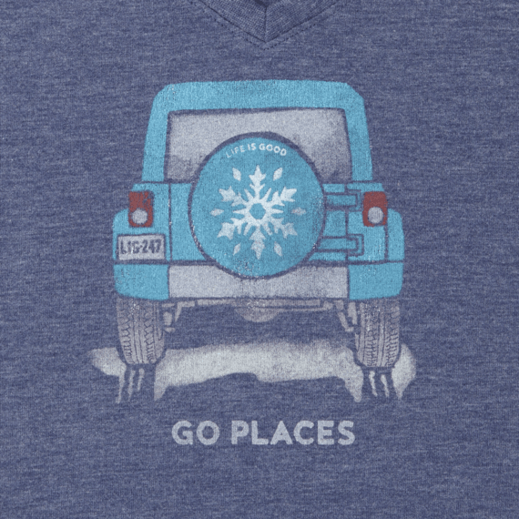 Women's Go Places Winter Long Sleeve Cool Vee