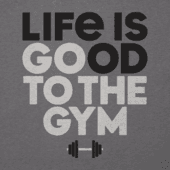 Women's Go To The Gym Cool Vee