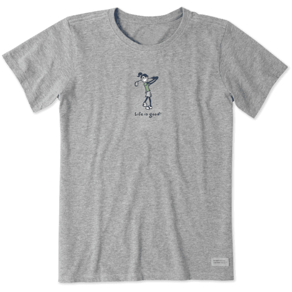Women's Golf Jackie Vintage Crusher Tee