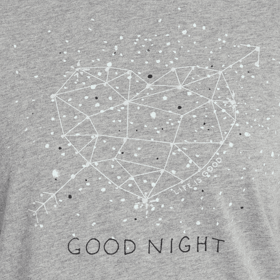 8d15e31f02 ... Tee  Women s Good Night Constellation Snuggle Up Relaxed Sleep ...