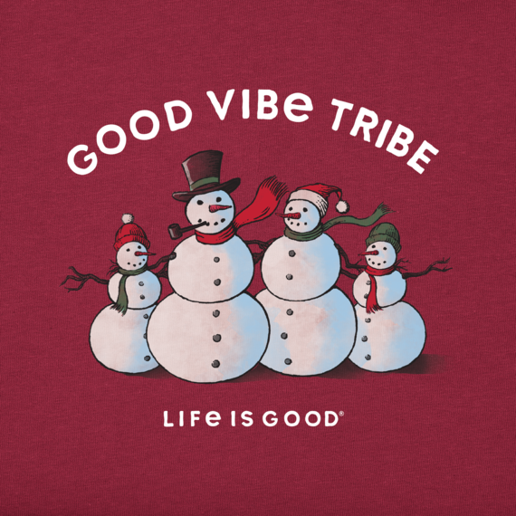 Women's Good Vibe Tribe Long Sleeve Crusher Tee