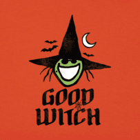Women's Good Witch Long Sleeve Crusher Tee