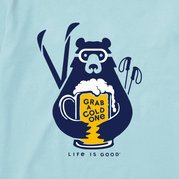 Women's Grab a Cold One Long Sleeve Crusher Tee