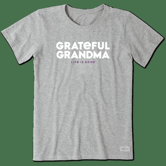 Women's Grateful Grandma Crusher Tee