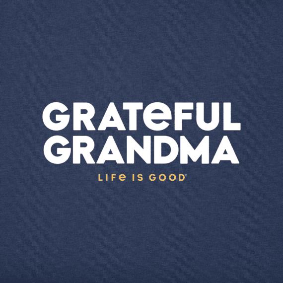 Women's Grateful Grandma Crusher Vee