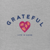 Women's Grateful Heart Long Sleeve Crusher Vee