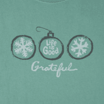 Women's Grateful Ornaments Crusher Tee