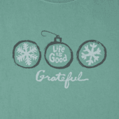 Women's Grateful Ornaments Crusher Tee