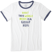 Women's Group Hug Ringer Cool Tee