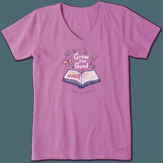 Women's Grow The Good Book Crusher Vee