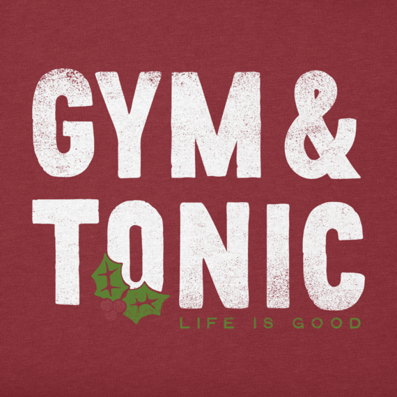 Women's Gym and Tonic Long Sleeve Crusher Tee