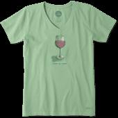 Women's Half Full Wine Crusher Vee