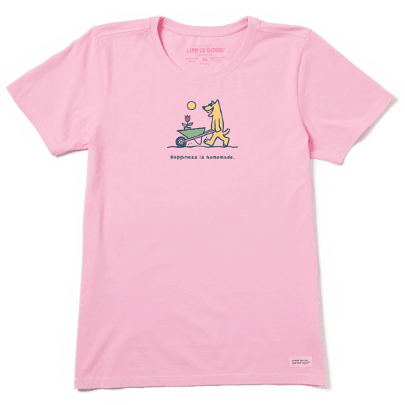 Women's Happiness Is Homemade Vintage Crusher Tee
