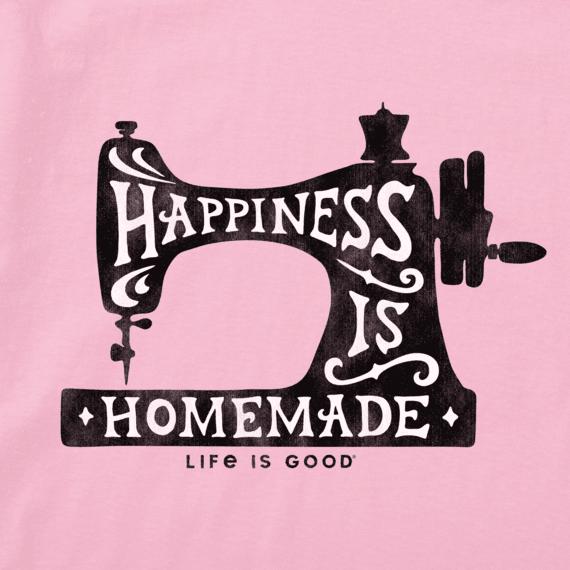 Women's Happiness Sewing Machine Crusher Vee
