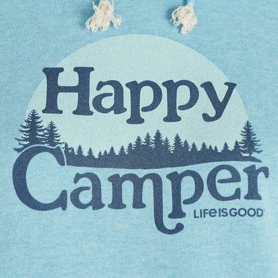 Women's Happy Camper Simply True French Terry Hoodie