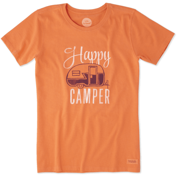 605472a0a2c Women s Happy Camper Crusher Tee