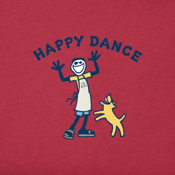 Women's Happy Dance Jake Crusher Tee