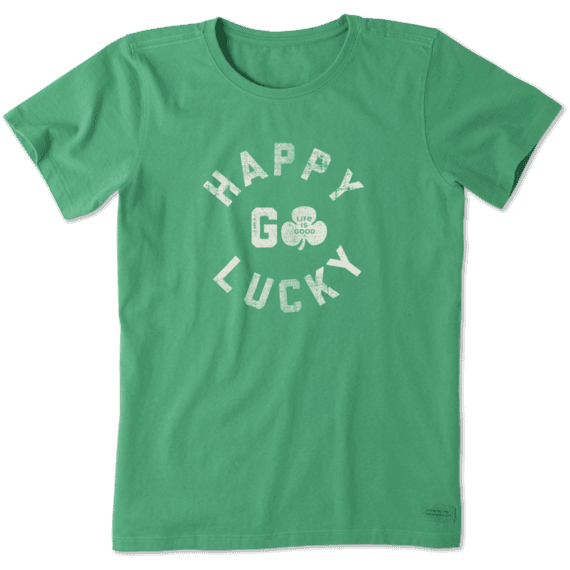 Women's Happy Go Lucky Crusher Tee