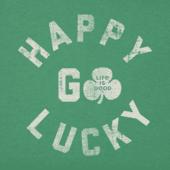 Women's Happy Go Lucky Crusher Tee