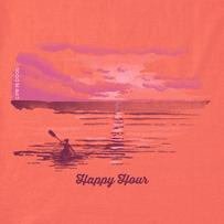 Women's Happy Hour Kayak High-Low Crusher Tank