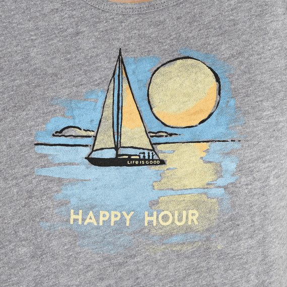 Women's Happy Hour Sailboat Breezy Tank
