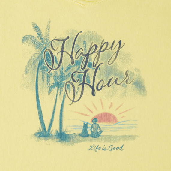 Women's Happy Hour Smooth Scoop Tee