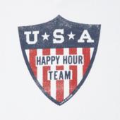 Women's Happy Hour Team Long Sleeve Crusher Vee