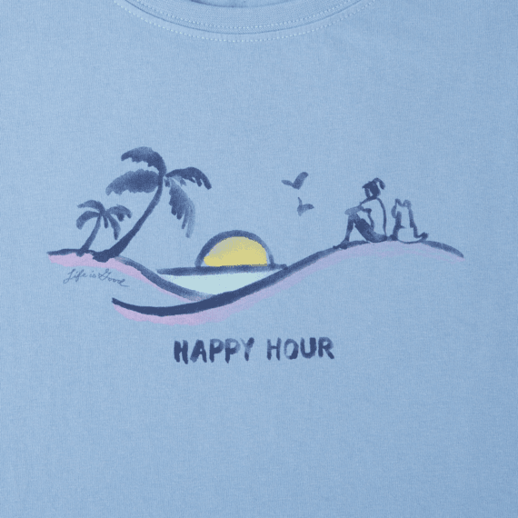 Women's Happy Hour Vista Crusher Scoop Tank