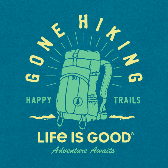 Women's Happy Trails Hiking Pack Crusher Tee