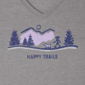 Women's Happy Trails Vista Cool Vee
