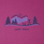 Women's Happy Trails Vista Crusher Tee